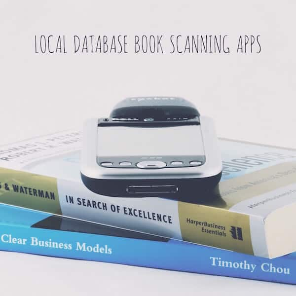 Local Database Book Scanning Apps