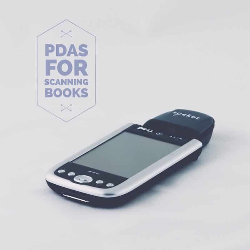 PDAs for Scanning Books