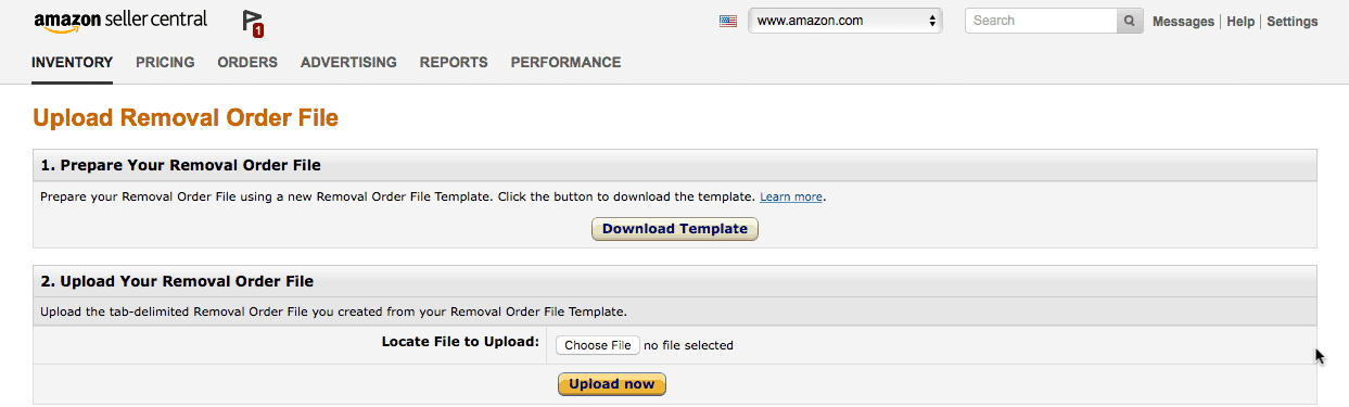 amazon removal order file template