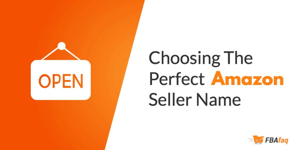 Amazon seller name