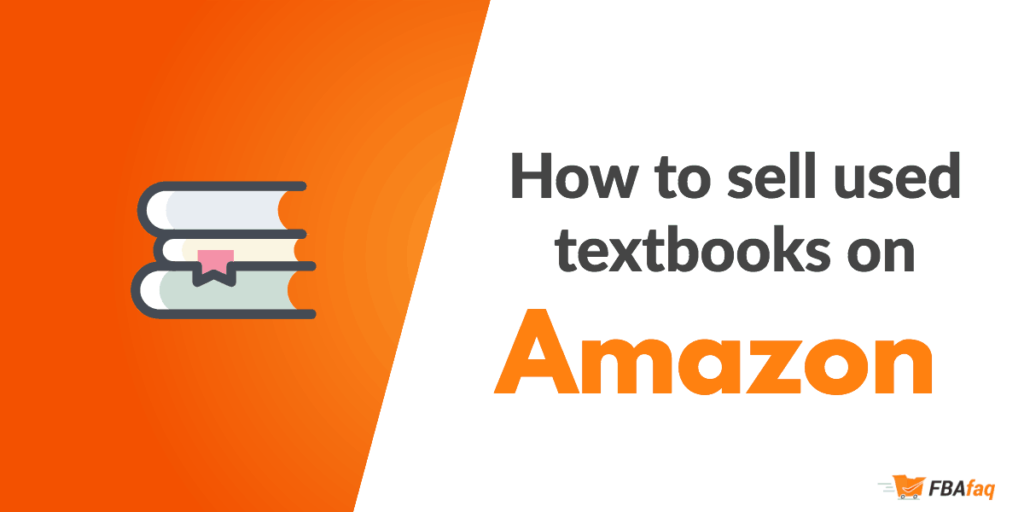 Sell used textbooks on amazon