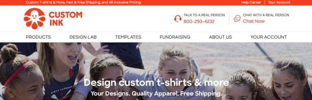 custom ink - 14 Best Print On Demand Sites in 2019: Sites Like Redbubble, Zazzle and CafePress