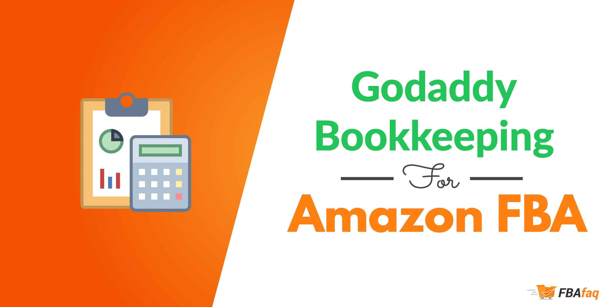 godaddy bookkeeping amazon fba
