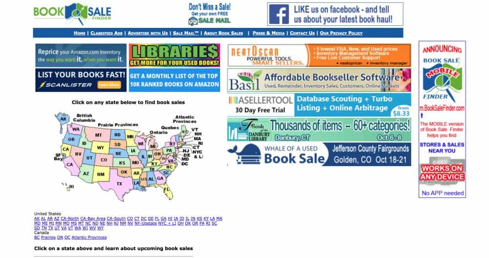 booksalefinder - Where To Find Used Books To Resell on Amazon or Online