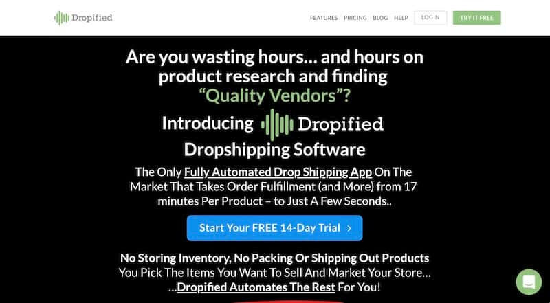 11 dropified - 15 Best Dropshipping Companies / Suppliers