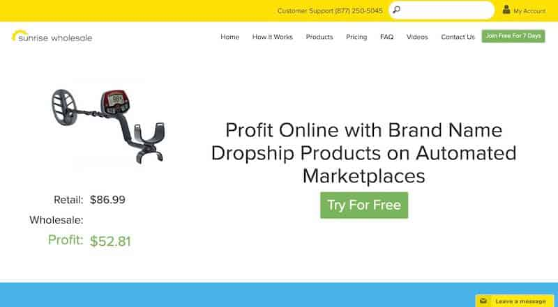 3 sunrise wholesale - 15 Best Dropshipping Companies / Suppliers