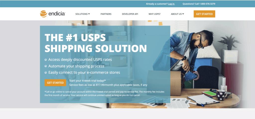 endicia shipping software002 1024x478 - Review of Endicia