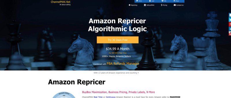 3 ChannelMax - Best Repricer Tools For Amazon Sellers in 2020